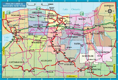 zip code map western ny rochester and western new york