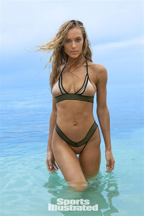 Rose Paint Colors by Hannah Ferguson Photos Sports Illustrated Swimsuit 2017