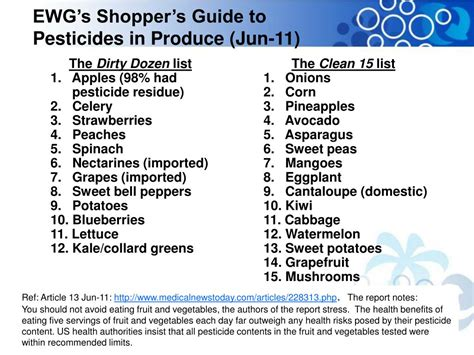 ewgs 2014 shoppers guide to pesticides in produce ppt patrizia barone ph d regulatory affairs director