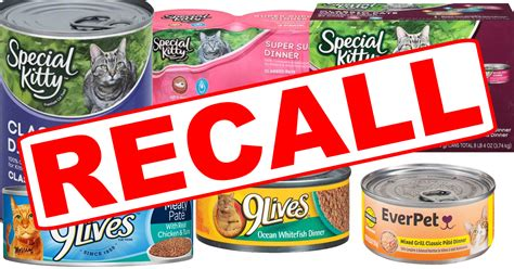 food recall voluntary canned cat food recall in place kxro news radio