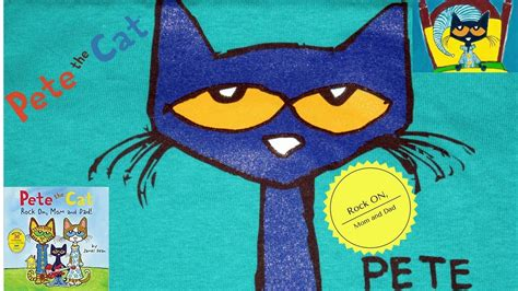 Pete The Cat Rock On And pete the cat rock on and show and song with