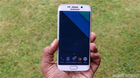 android themes s6 edge hands on galaxy s6 edge gets stock android like theme