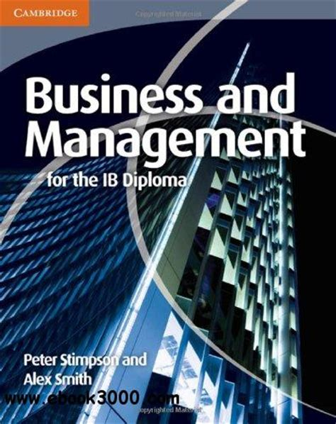 Buku Cambridge Business And Management For The Ib Diploma Coursebook Business And Management For The Ib Diploma Free Ebooks