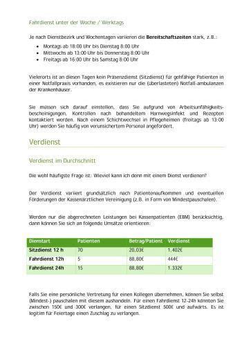 Musterrechnung Leichenschau Abrechnung Und Leitfaden F 252 R Den Notdienst Ebooks Teramed
