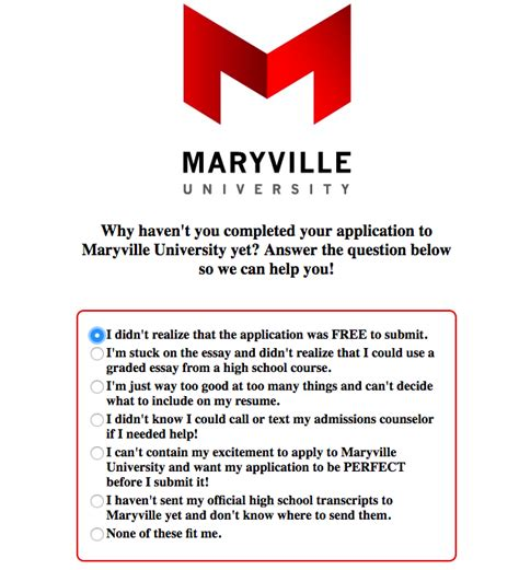 Maryville Mba Program by Maryville Uses Formassembly To Connect With Students From