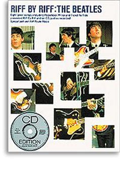 libro daytripper beatles riff by riff cd tablature spartiti libro chitarra basi day tripper revolution