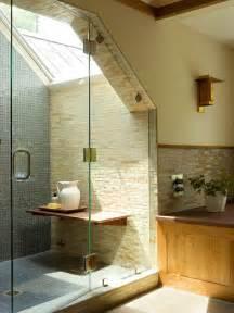 to da loos slanted ceiling bathrooms