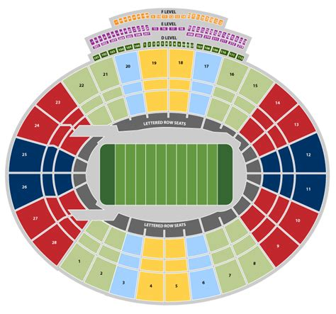 bowl ticket map