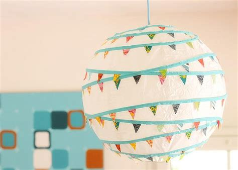 How To Make Paper Bunting - make a bunting paper lantern 187 dollar store crafts