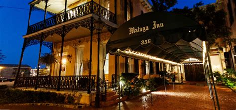 Hotel in Mobile Alabama: Directions Malaga Inn (Mobile