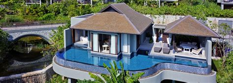 one bedroom villa phuket luxury ocean pool villas pullman phuket arcadia naithon