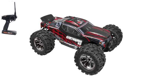 rc nitro monster truck nitro gas remote control redcat earthquake 3 5 1 8 scale