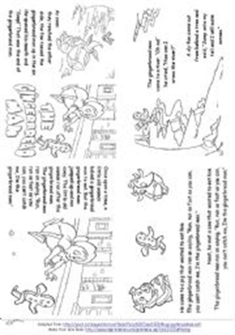 free printable gingerbread man mini book esl worksheets for beginners the gingerbread man story