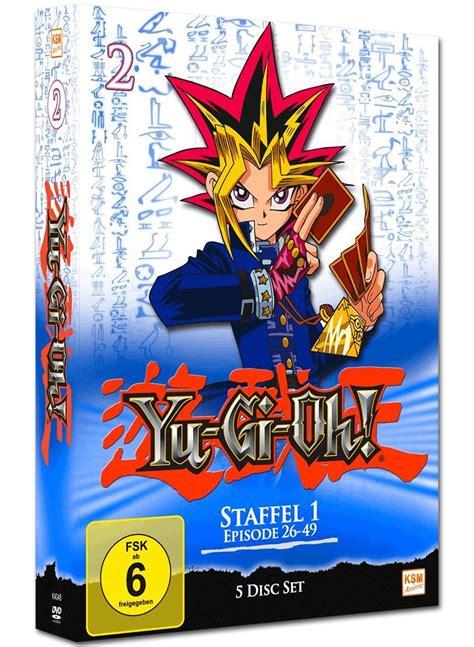 Yu Gi Oh Box 1 Yu Gi Oh Staffel 1 Box 02 5 Dvds Anime Dvd World