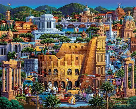 500 Jigsaw Puzzle rome a 500 jigsaw puzzle by dowdle folk