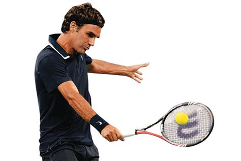 backhand swing federer one handed backhand