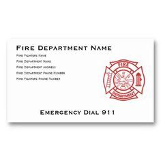 firefighter business card template 1000 images about firefighter stuff on