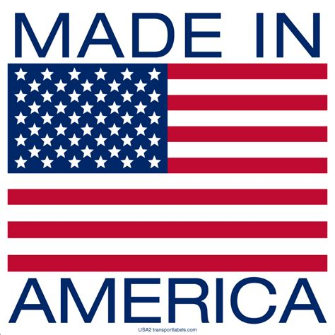 made in america an made in america labels transportlabels com