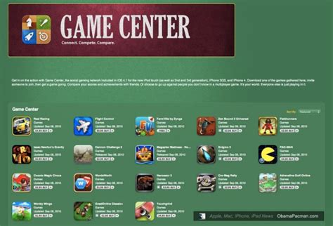apple game center ios 4 2 new features game center