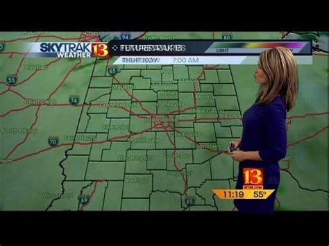 SkyTrak Weather Forecast - YouTube Wishtv Indianapolis Weather