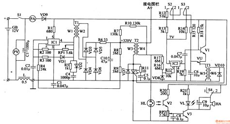 electric fence schematic circuit diagram car ignition coil