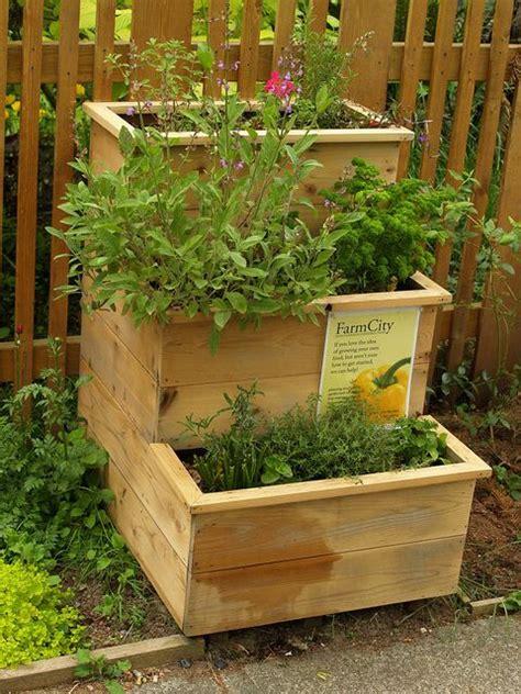 tiered herb garden by farmcity food gardens via flickr