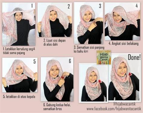 tutorial segi empat 2015 tutorial hijab segi empat terbaru 2015
