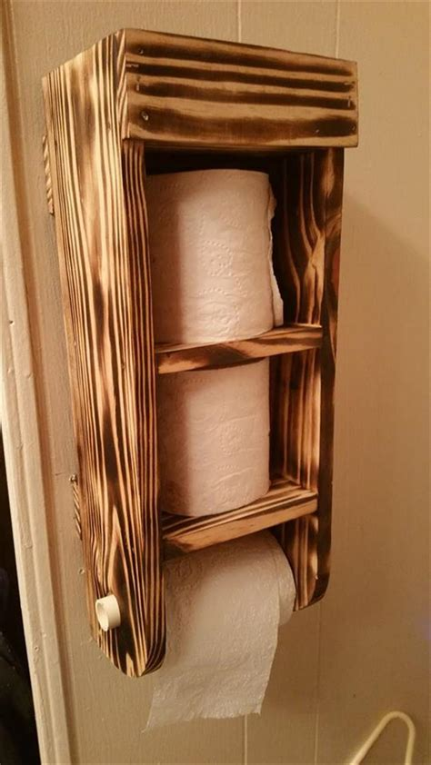 toilet paper holder wood creative toilet paper holder ideas which enhance the look