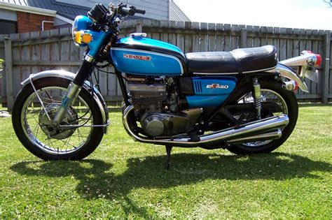 1972 Suzuki Gt550 Our Bikes Classic Japanese Motorcycle