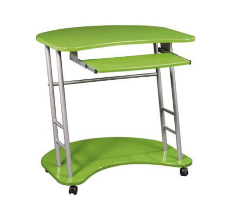 lime green computer desk kool kolors collection computer desk by officestar lime green h142214 qvc
