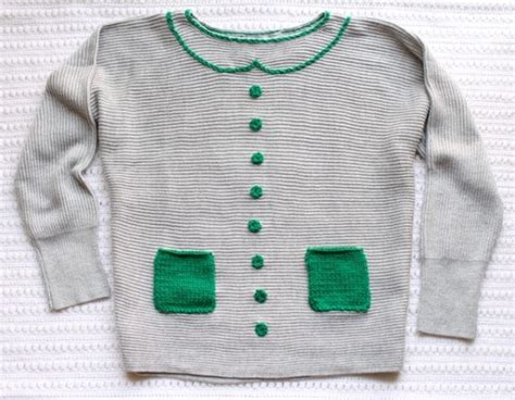 diy sweater makeover 15 amazing diy sweater makeovers