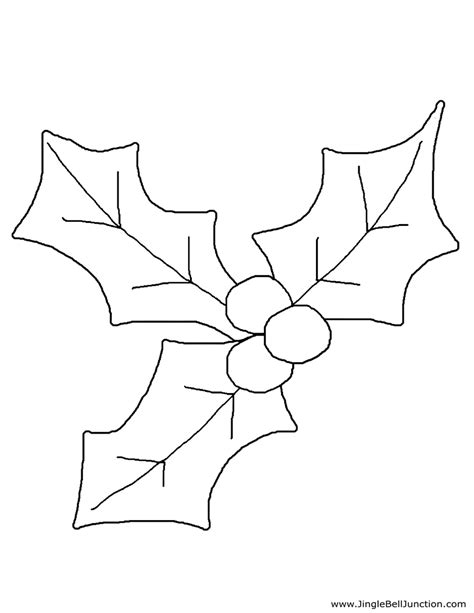 mistletoe coloring page www imgkid com the image kid
