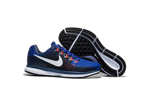 Nike Air Zoom Pegasus Navy Blue nike air zoom pegasus 34 em navy blue white running shoes sneakers trainers 880555 414 zashoes