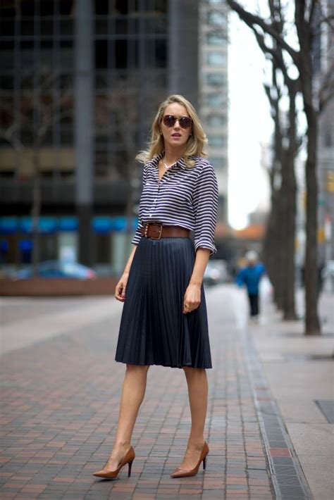 what to wear with a pleated skirt 2018 fashiongum