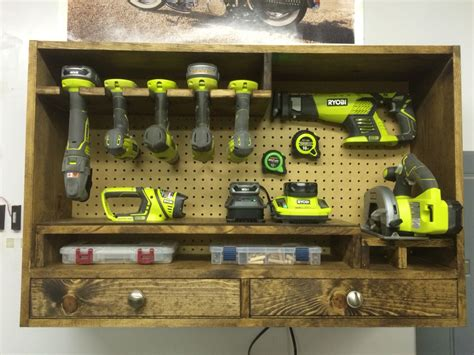 garage tools on ebay power tool storage ryobi worhshop plans pinte