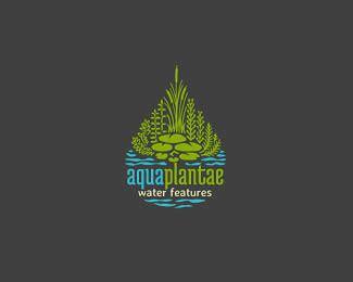 aquascape logo logopond logo brand identity inspiration