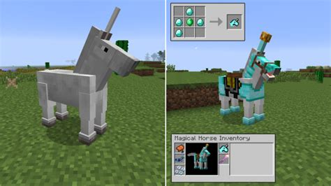 Easy Accessories To Build On Minecraft by Mod The Ultimate Unicorn 1 7 Minecraft Aventure