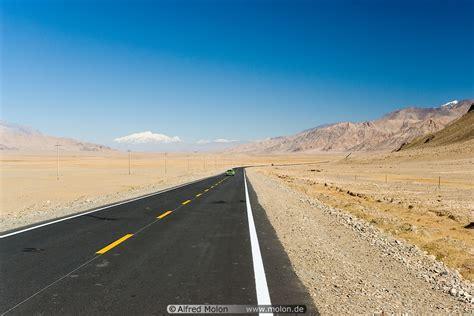 newly built newly built highway picture tashkurgan to khunjerab pass karakoram highway xinjiang china