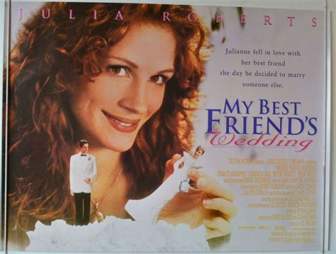 My Best Friend's Wedding   Original Cinema Movie Poster