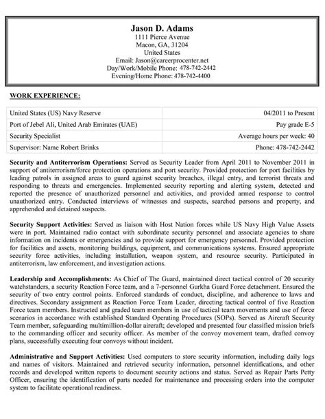 great federal resume sample template for government resume federal