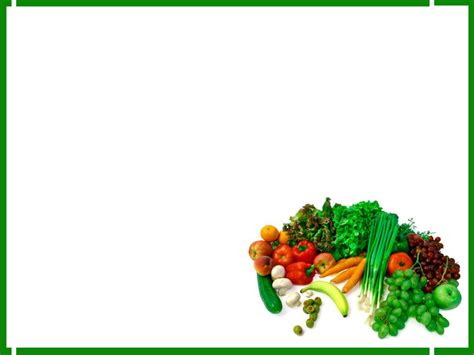 free food powerpoint template green foods free ppt backgrounds for your powerpoint templates