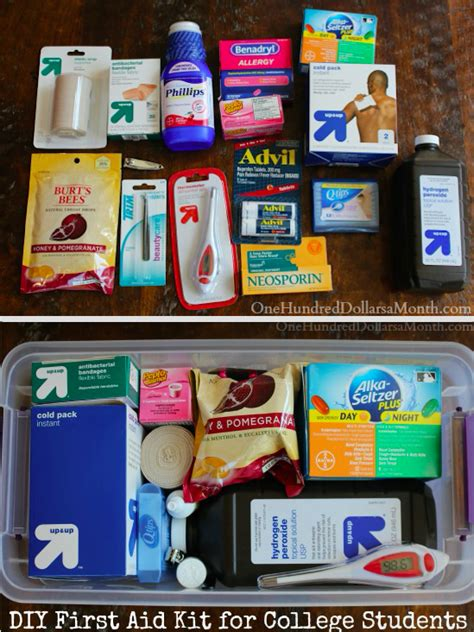 Great Giveaways For College Students - diy first aid for college students coupons and deals savingsmania