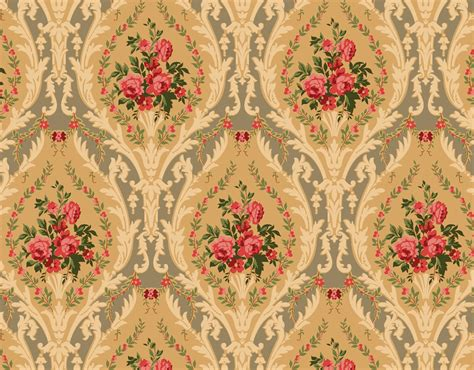 Arts And Crafts Wall Paper - free texture or background style