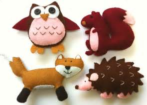 Felt Templates Animals by Best Photos Of Patterns Felt Animal Templates Woodland