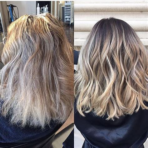 hairstyle reverse highlight 1000 ideas about reverse balayage on pinterest blonde