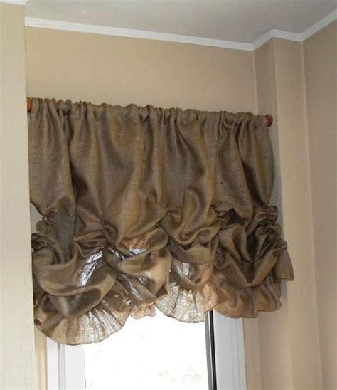burlap curtain valance 25 best ideas about burlap valance on pinterest burlap