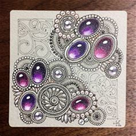 undine original zentangle 174 pattern from jane dickinson pin by linda mcclure on zentangle gems pinterest