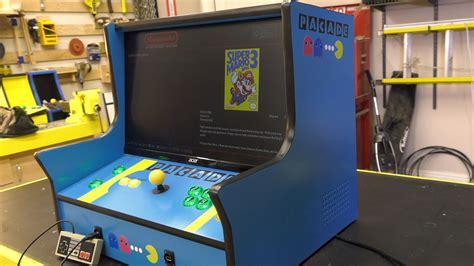 Bartop Arcade Cabinet Plans Pacade Bartop Arcade Cabinet Plans The Pub