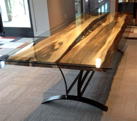 river steel root furniture modern wood  metal