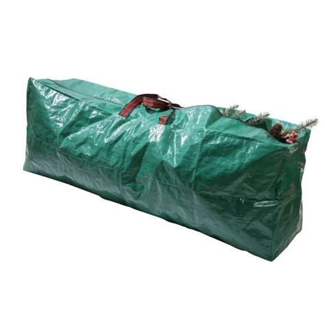 vencer green extra large christmas tree bag for 9 foot tree holidayvho 006 cheap green plastic tree storage bags with black stripped fabric bag handles and